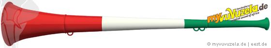 original my vuvuzela, 3-teilig, italien