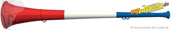 original my vuvuzela, 3-teilig, frankreich