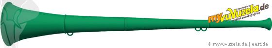 original my vuvuzela, 2-teilig, grün | grün