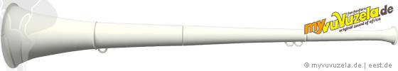 original my vuvuzela, 2-teilig, weiß | weiß